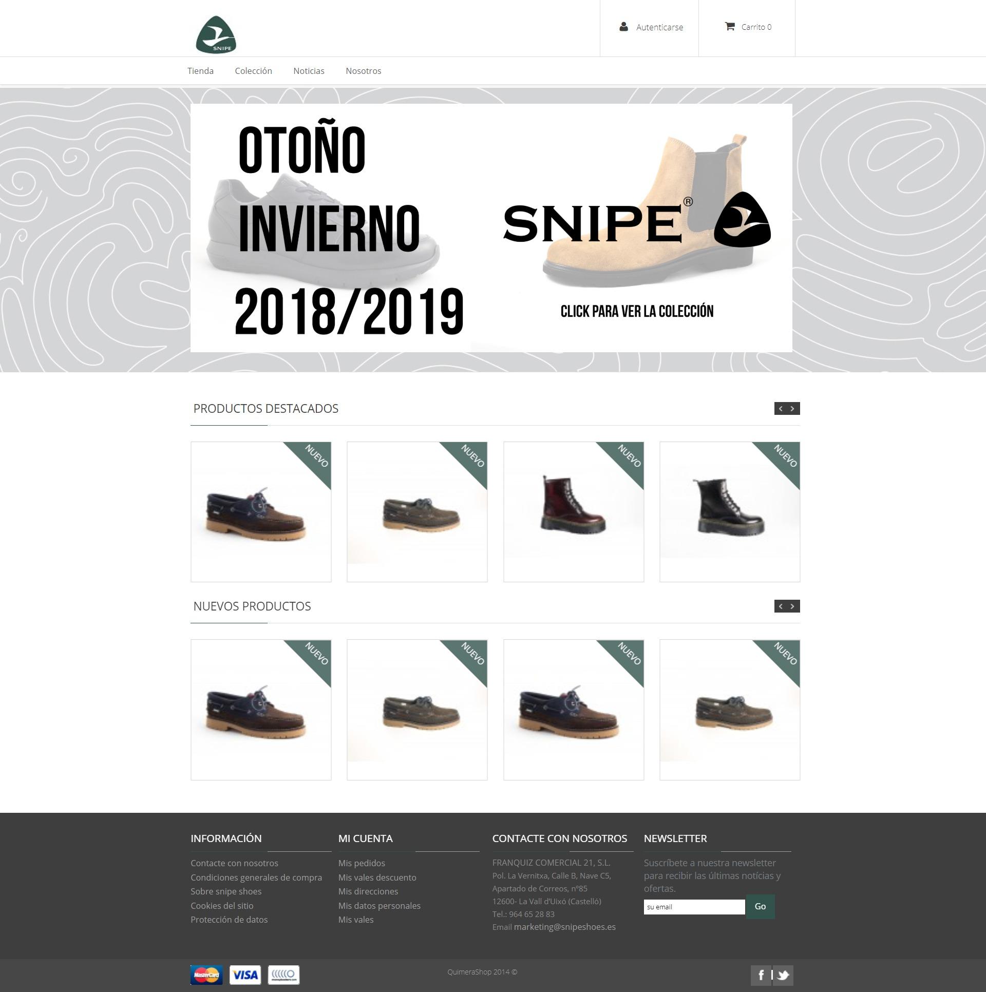 Tienda online snipeshoes.es